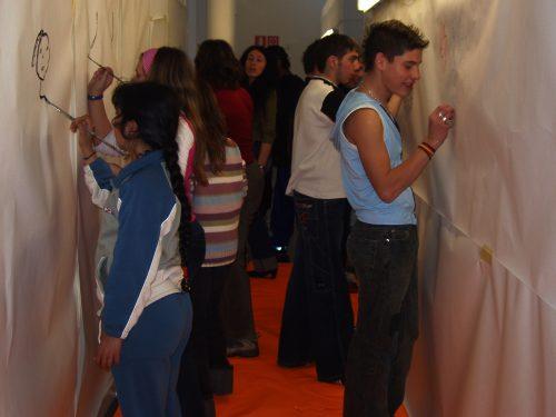 Projecte artístic comunitari amb joves